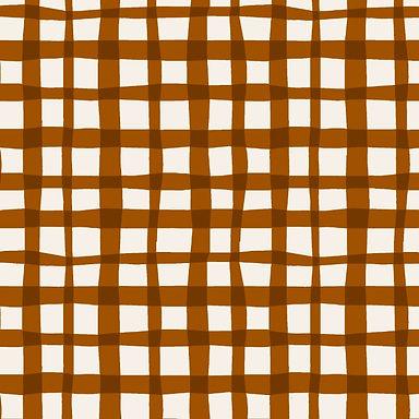 PICNIC marrón - Punto jersey elástico
