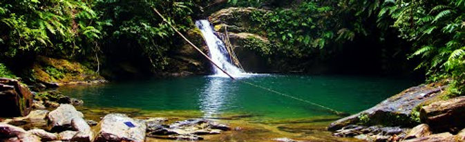Avocat Waterfall Three Pools Blanchisseuse Trinidad