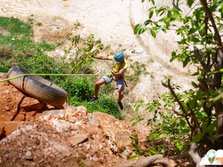 What Goes Up Must Come Down... A Rappelling Experience