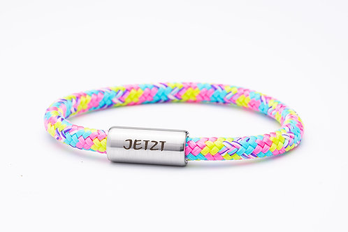 Armband rosa/ blau/ gelb, mit Tomanika Jetzt