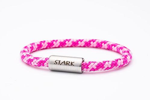 Armband hell und dunkel rosa, mit Tomanika Stark