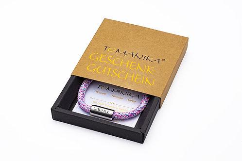 Geschenkgutschein Tomanika mit Armband