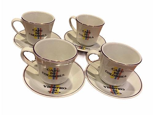 Coffee set x 4