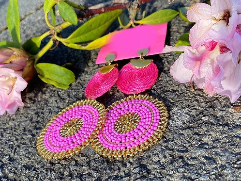 Earrings - HM Pink