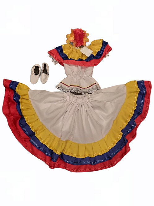 Cumbia dress for girl (Size 14)
