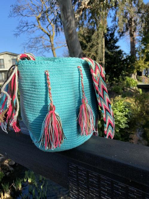 Mini Wayuu - Handbag Turquoise