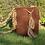 Thumbnail: Wayuu Unicolor bag - Brown