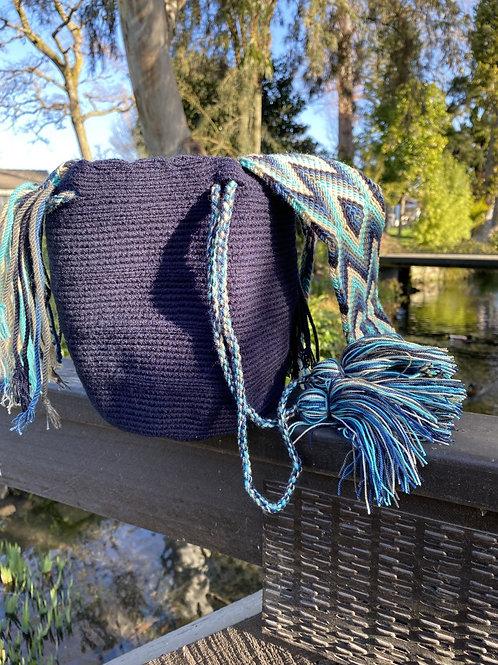 Mini Wayuu - Handbag Dark blue