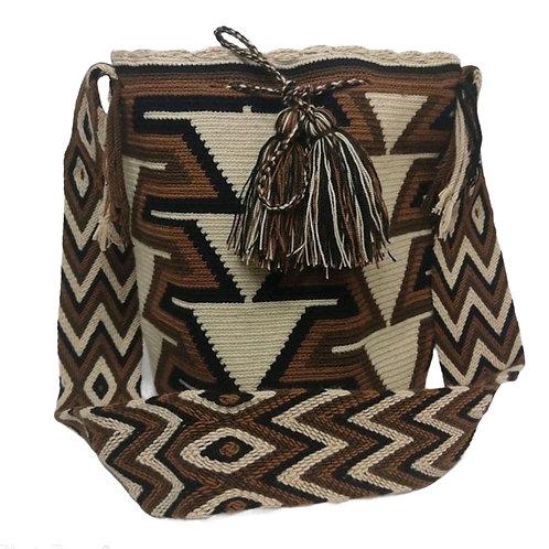 Wayuu design bag - Earth