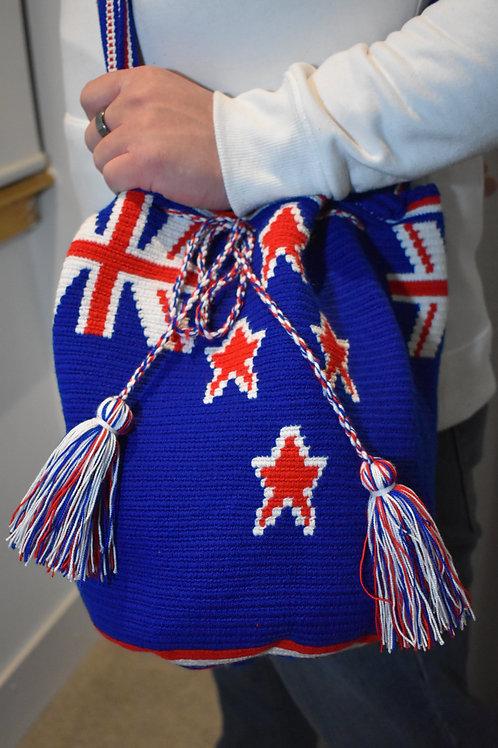 Wayuu Bag- New Zealand Flag
