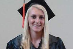 Jorden Cayford, 2015 High School graduate of TCC Connections Academy online school