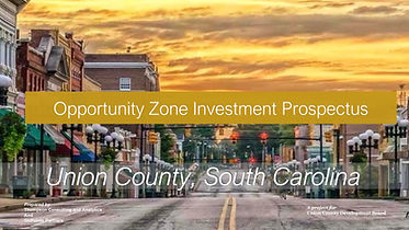 Union County Opportunity Zone Investment Prospectus