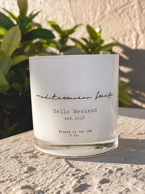 Mediterranean Breeze Candle