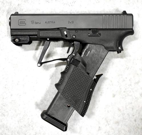 glock 19 gen 4 pistol w m3d modification