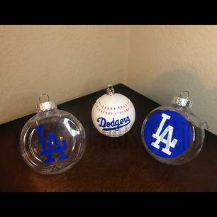LA Dodgers Christmas Ornament Design Commission