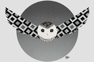 Fabric Owl