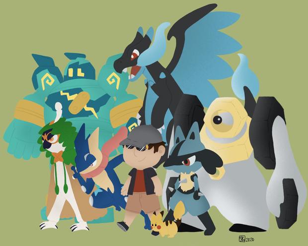 Pokemon Commission 1