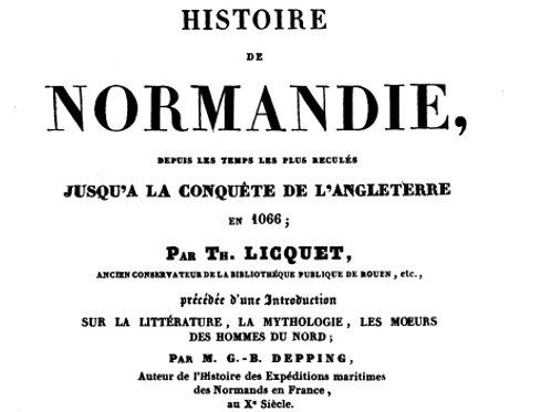 Histoire de Normandie