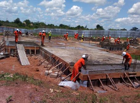 TERREWODE Women's Community Hospital Construction Update - June, 2018