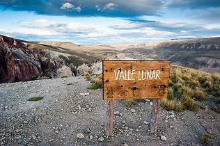 Trekking parque patagonia valle lunar
