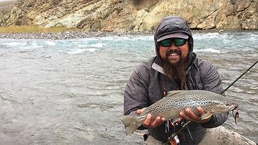 Fly Fishing Chile Chico River Jeinimeni