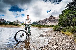 Vier Seen Mountainbike Wanderung Jeinimeni Parque Patagonia