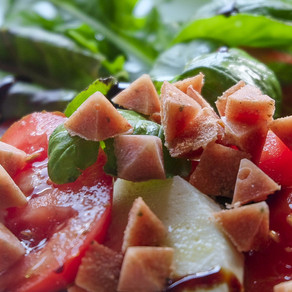 Frozen Caprese - for doggies, but not only...