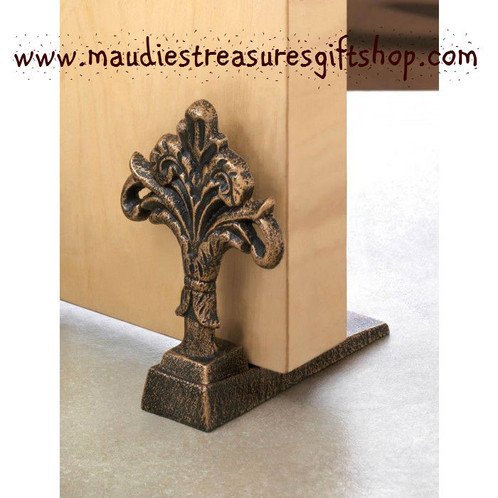 Let The Fresh Air In With This Stylish Door Stopper Made From Cast Iron Decorative Fleur De Lis Will Be A Delight