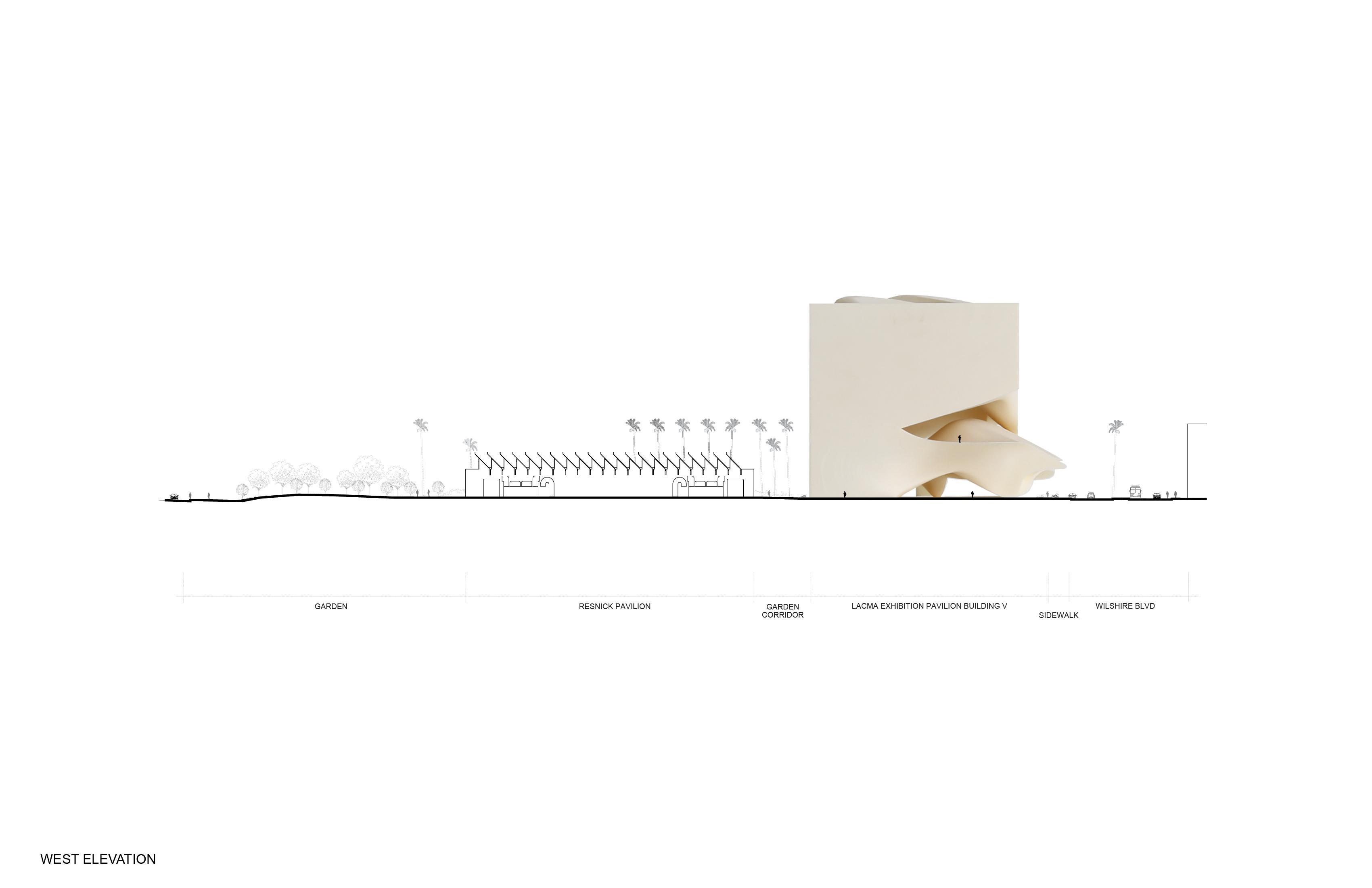 LACMA Exhibition Pavilion Building V14