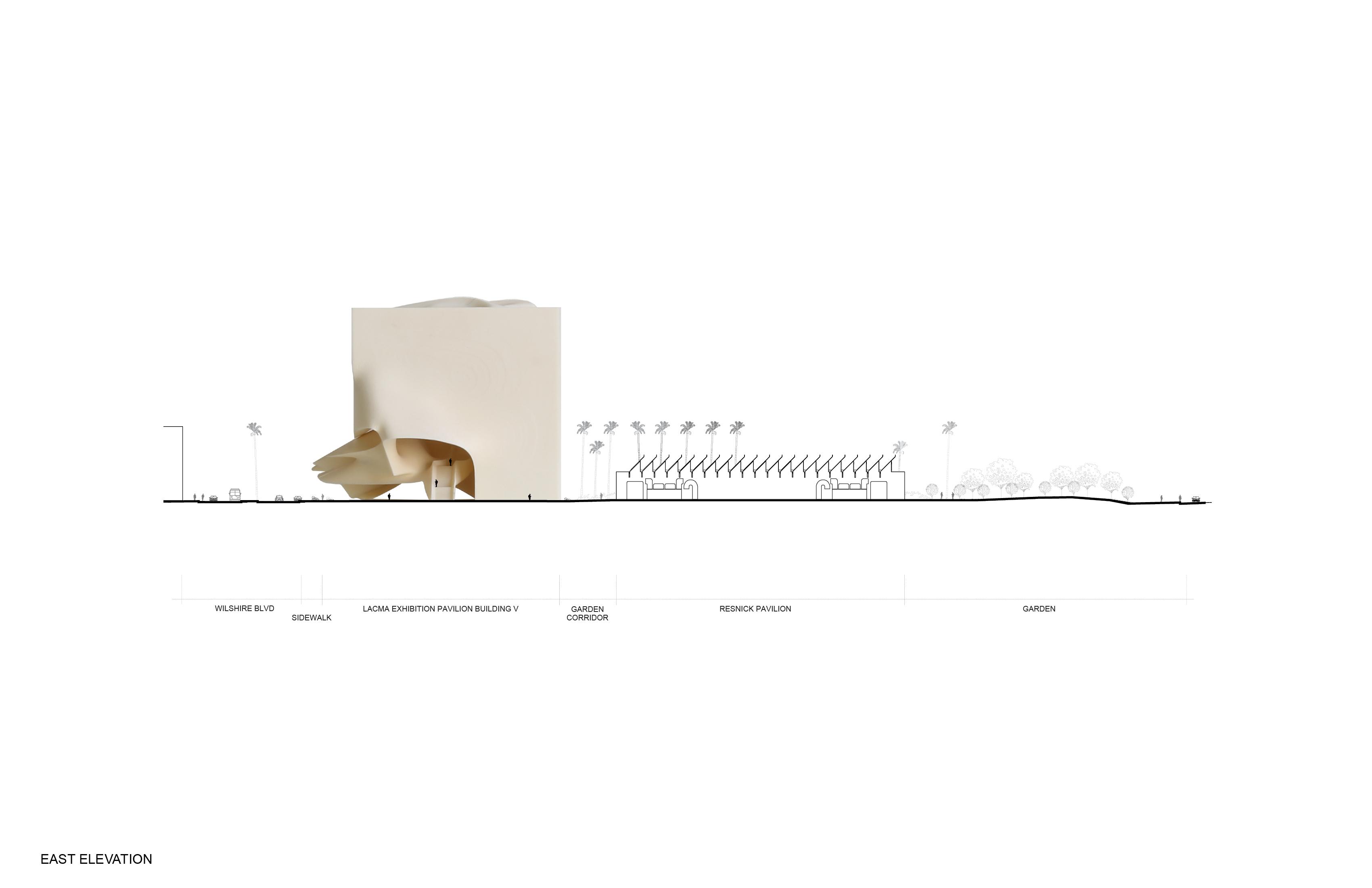 LACMA Exhibition Pavilion Building V13