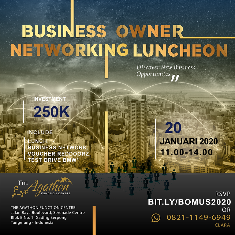 Business Owner Networking Luncheon