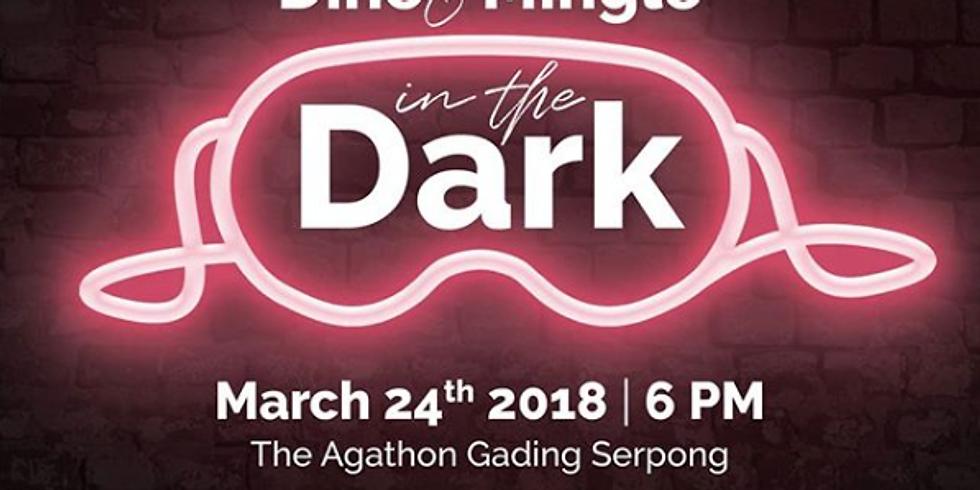 Dine & Mingle in the Dark