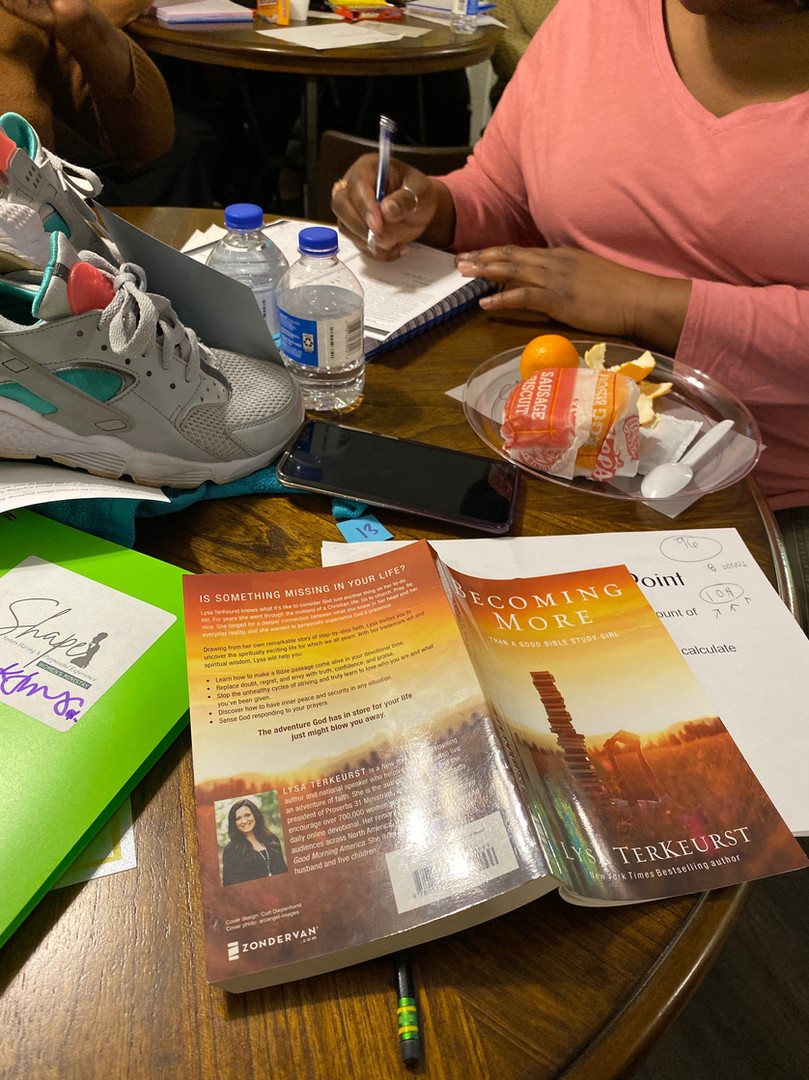 BOOK STUDY REFLECTIONS