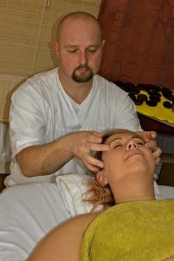 Lymphatic facial massage Newtownards