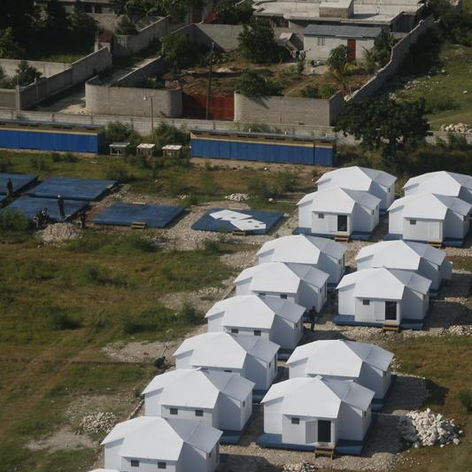 Global Village Shelters in Haiti
