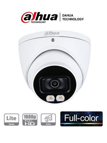 DAHUA HDW1239T-A-LED - Camara Domo HDCVI Full Color 1080p