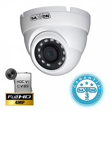 SAXXON PRO DF3640ME - Camara domo HDCVI 4 megapixeles