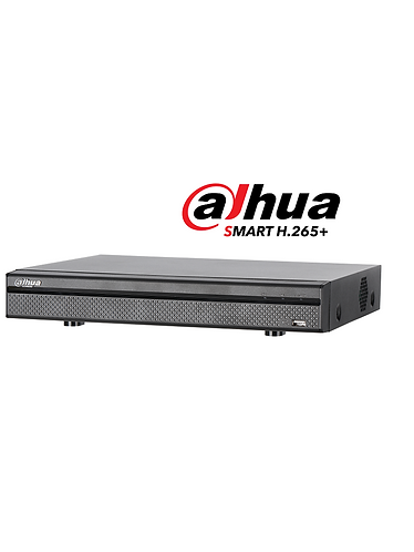 DAHUA XVR5108H-4KL-X-DVR 8 CAN  4K/ 6 MP/ 4MP/ 1080P/ H265+ SMART AUDIO