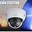 Thumbnail: DAHUA HDBW1400RZS2 - Camara domo antivandalica 4 megapixeles