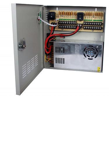 SAXXON PSU1230D18 - Fuente de poder 12V CD 18 canales