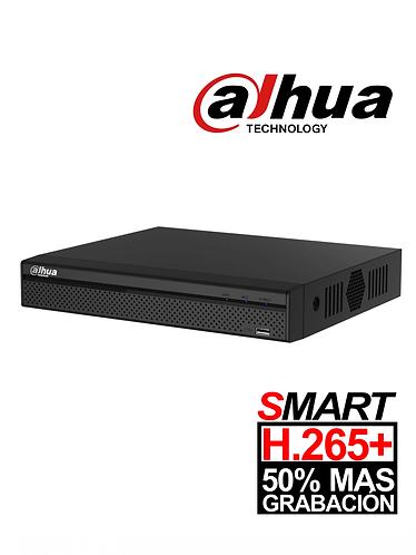 DAHUA XVR4104HSX1 - DVR 4 Canales HDCVI pentahibrido 1080p Lite