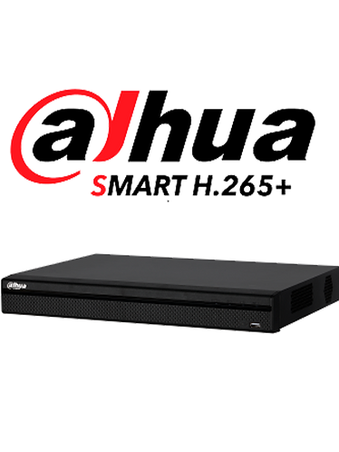 DAHUA XVR5208AN-4KL-X - DVR 8 CANALES  4K/ 4 MP/ 1080P/ H265+IVS/SMART AUDIO