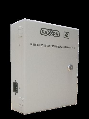 SAXXON PSU1213D8H-  Distribuidor para 8 camaras Ideal para camaras 4K