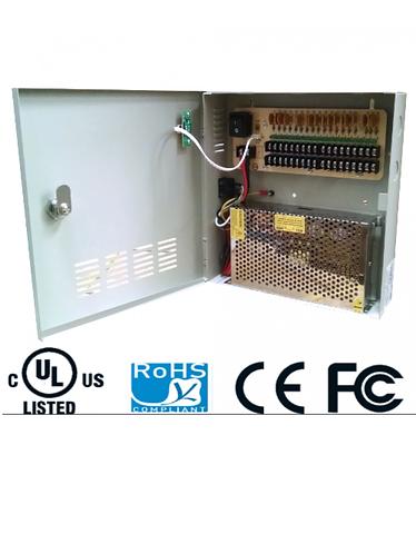 SAXXON PSU1220D18 - Fuente de poder 12V CD 18 canales
