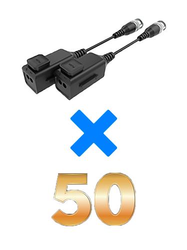 UTEPO UTP101PHD6PAK50 - 50 Pares de transceptores pasivos HD