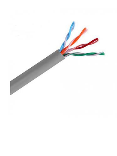 SAXXON OUTP5ECCA100G CABLE UTP CCA/CAT 5E/GRIS/INTERIOR/100M