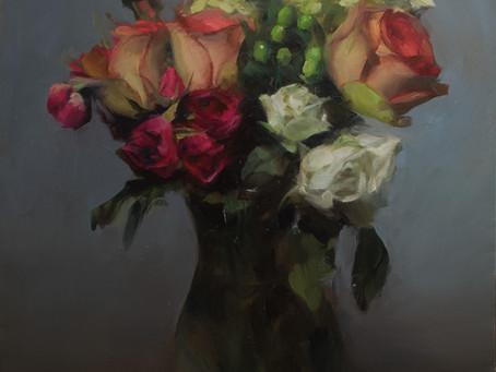"Stephanie Deshpande - ""Studio Pintura's 2020 Spring Floral Art Exhibition"""