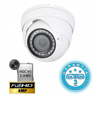 SAXXON PRO DVF3640ME - Camara domo HDCVI 4 megapixeles