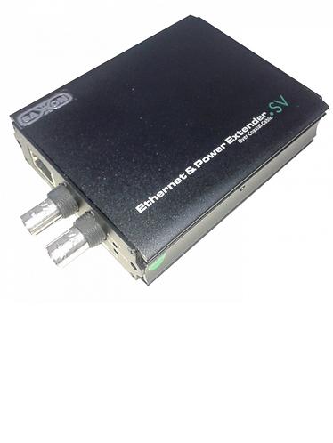 Extensor de red por medio de cable coaxial RG6 hasta 2KM