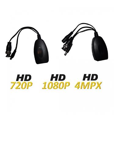 SAXXON UTP101PVHD12 - Par transceptores pasivos de video